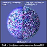 Free BE SuperSample for Renderman 1.0.0