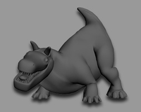 Free Bull Creature Rig for 3dsmax 1.0.0