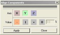 Free Align Components for Maya 1.6.0 (maya script)
