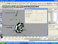 Free Auto Wheel Spin Setup for Maya 1.0.0 (maya script)