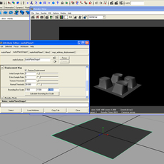 arbitrary displacement for Maya 0.9.0