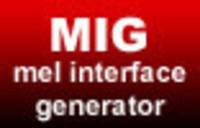 Free MIG - MEL Interface Generator 1.0.0