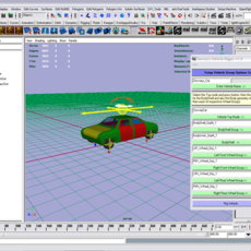 Davvey's Vehicle rigs  (rev) for Maya 0.0.0 (maya script)