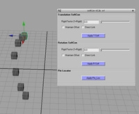 Free soft constraint (bi-directional) for Maya 1.2.0 (maya script)
