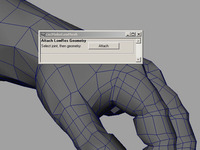 Quick Attach Low Res Geometry 1.5.0 for Maya (maya script)
