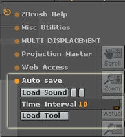 Free AutoSave-ver.0 for Zbrush 2.0.0