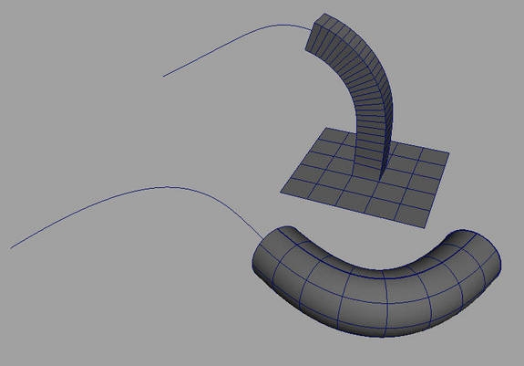 Extrude Length along curve for Maya