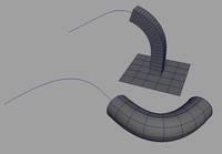 Extrude Length along curve 1.0.1 for Maya (maya script)