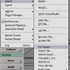 dxf importer for XSI for Xsi 1.0.0