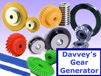 Davveys Gear Generator 1.0.3 for Maya (maya script)