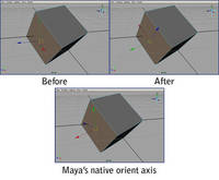 GT 3 Point Orient Axis v.0.0 1.0.0 for Maya (maya script)