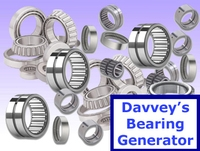 Davveys Bearing Generator 1.0.0 for Maya (maya script)