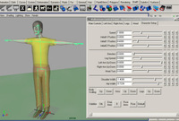 Walkerman Version 1.9.5 for Maya (maya script)