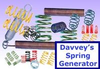 Free Davveys Spring Generator for Maya 1.1.0 (maya script)