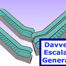 Davveys Escalator Generator for Maya 1.2.0 (maya script)