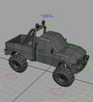 Free Cartoon Truck for Maya 1.0.1