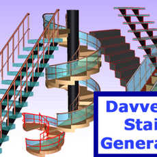 Davveys Stair Generator for Maya 1.1.2 (maya script)