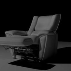 Recliner with animation controls 1.1.0 for Maya