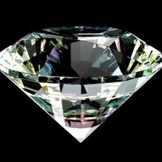 Diamond Shader with ramp chromatic. for Maya 0.0.1