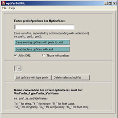 ks_optVarToXML.mel for Maya 1.0.0 (maya script)