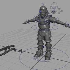 Soldier for Maya 1.1.0