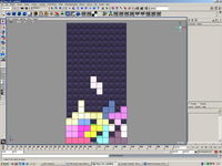 Free TETRIS in Maya! for Maya 1.0.0 (maya script)