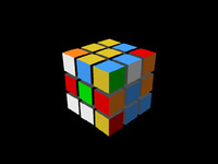 Free Rubiks Cube Rig for Maya 0.0.1