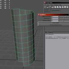 spiralMesh for Maya 1.0.0 (maya script)