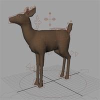 Deer Rig 1.0.0 for Maya