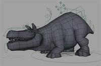 Free Bull-Creature Rig for Maya 1.0.0