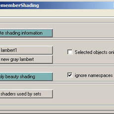 ks_rememberShading for Maya 0.3.0 (maya script)