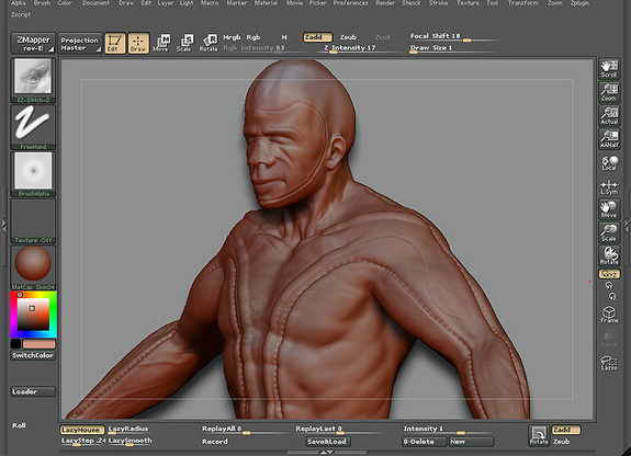 Precision Stroke for Zbrush - Free Downloads for Zbrush