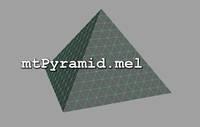 Free mtPyramid for Maya 1.0.0 (maya script)