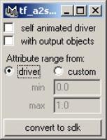 Free tf_animCurve2drivenKey for Maya 1.0.0 (maya script)