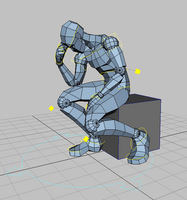 DummyMan - humanoid basic rig for Maya 1.0.4