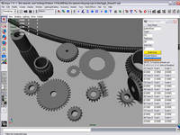Free Palmer Gear Builder for Maya 1.0.0 (maya script)