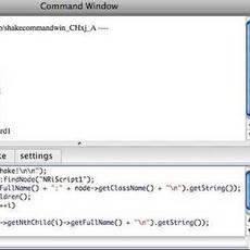 Shake Command Window 0.9.4