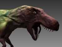 Free T-rex rig for 3dsmax 1.0.0