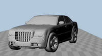 Modified Chrysler300 Rig 1.0.0 for Maya
