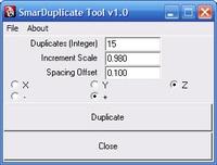 Free SmarDuplicate for Maya 1.0.0 (maya script)