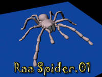 Free raa spider for Maya 1.0.1