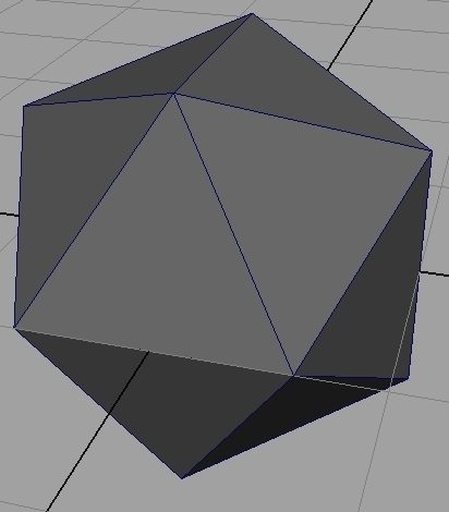 Regular Icosahedron Generator For Maya