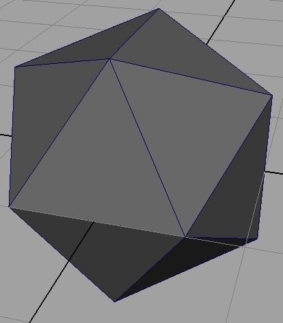 Regular Icosahedron Generator For Maya