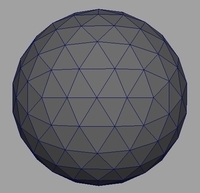 Geodesic Sphere Generator 0.1.1 for Maya (maya script)