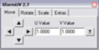 Free SDV xformUV for Maya 2.8.0 (maya script)