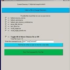 tj_genericUIExecute for Maya 1.0.0 (maya script)