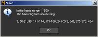 Free missingFrames for Nuke 1.0.0