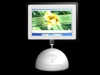 I-Mac 3D Model