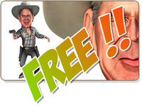 Free W. Bush caricature for Xsi 1.0.0