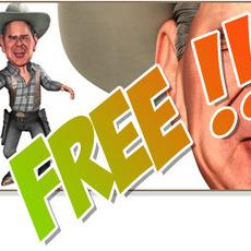 W. Bush caricature for Xsi 1.0.0